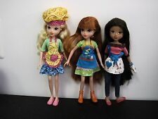 MOXIE GIRL NEW DOLL LOT OUT OF BOX - BAKERS AND ARTIST