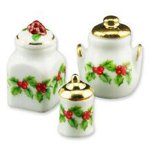 Reutter Porzellan Weihnachtsdosen Mistelzweig Puppenstube Dollhouse 1:12