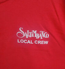 SALTIMBANCO Cirque De Soleil Arena Tour LOCAL CREW T-Shirt Adult RED XL Circus