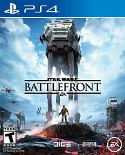Star Wars: Battlefront PlayStation 4 PS4 Games Brand New Video Game Sealed