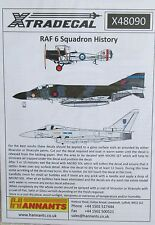 Xtradecal 1/48 X48090 No 6 Squadron RAF History Decal Sheet