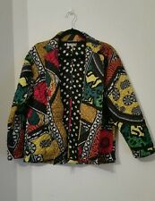 Ladies JACKET Size 14 UK 40 EU RIVER ISLAND CHELSEA GIRL  COLOURFUL Multi Colour