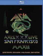 Asia: Axis XXX - Live San Francisco (Blu-ray Disc, 2015)