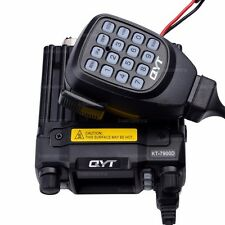 QYT KT-7900D Quad Band Quad Standby 5Tone 25W VHF UHF Car Trunk Ham Mobile Radio