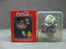 Coca- Cola Ornament  Light Up Your Holidays With Coke Enesco 1993