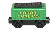 SODOR COAL CAR Thomas Tank Engine Wooden Railway NEW GREEN