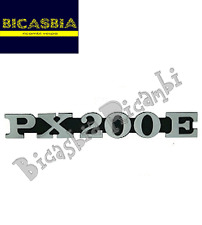 2834 TARGHETTA COFANO COFANI LATERALE VESPA PE PX 200 PX200E