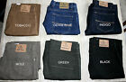 EX MARKS & SPENCER MENS M&S BLUE HARBOUR LUXURY JEANS ADDED STRETCH  STAYNEW