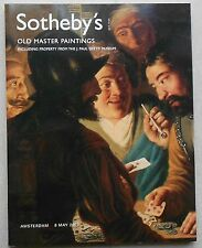 Sotheby Auktionskatalog Old Master Paintings / Getty 2007 Catalogue no book buch