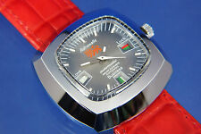 Gents NOS Vintage Astromatic Leo Star Sign Automatic Watch 1970s Swiss Ref1