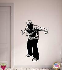Wall Stickers Vinyl Decal Gang Gangster Hood Tough Guy  (z2109)