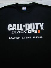 CALL OF DUTY Black Ops II launch promo XL T-SHIRT