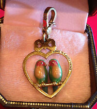 RARE & RETIRED 2007 JUICY COUTURE LOVE BIRDS CHARM YJRU1618
