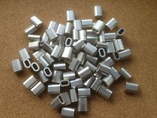 20x Aluminium Talurit Ferrules for 3mm / 3.5mm Steel Wire Rope Stainless Rigging