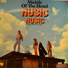 """MIDDLE OF THE ROAD - MUSIC MUSIC 12""""  LP (U122)"""