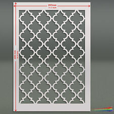 Large Moroccan  Stencil Template #4 : For Walls & Fabric Decoration: ST57A3