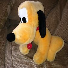 Large Pluto Soft Toy - Disneyland Walt Disney - Rare Collectable Christmas Gift