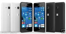 Nuevo MICROSOFT NOKIA LUMIA 550 Negro 4G LTE 8GB Sin Sim Unlock WINDOWS