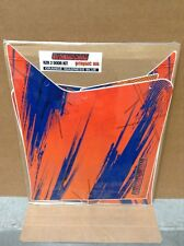 AMR Graphic Kit Decal CLOSE OUT - UTVGIANT RZR 2 Door - Orange Madness Blue