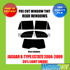 JAGUAR X-TYPE ESTATE 2004-2009 35% LIGHT REAR PRE CUT WINDOW TINT