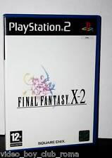 FINAL FANTASY X-2 gioco usato ottimo stato versione italiana prima stampa FR1