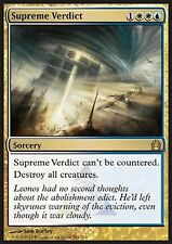 *MRM* FR Verdict suprême (Supreme Verdict) MTG Return to ravnica