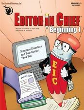Editor in Chief: Editor in Chief Beginning 1 : Grammar Disasters and Punctuation
