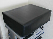 Quality Black Soft Vinyl Dust Cover for The Michell Orbe Turntable  UK Made