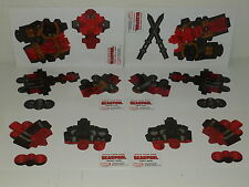 BUILD YOUR OWN DEADPOOL - 6 Part Paper Craft Promo - MARVEL - Movie MCU Tacos!