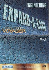 Star Trek Voyager Season 1 Rare Engineering X-3 Expand A Card Redemption