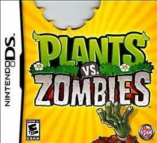 NEW SEALED Plants Vs. Zombies - Complete Nintendo DS Game FREE SHIPPING HTF