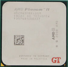 AMD PhenomⅡ X4 965 Black Edition HDZ965FBK4DGM Socket AM3 CPU Processor