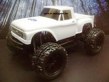 1966 Ford F-100 Custom Painted 4X4 Volcano EPX 1/10 RC Monster Truck Waterproof