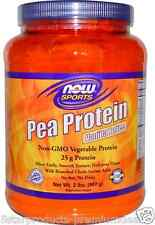 NEW NOW FOODS SPORTS PEA PROTEIN POWDER VANILLA TOFFEE DIETARY SUPPLEMENT 907 g