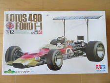 Tamiya 1/12 LOTUS 49B FORD Gold Leaf F1 Graham Hill Car Kit NEW Shrink
