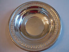 1954 WEST TEXAS OPEN SKEET 410 LADIES CHAMPION TROPHY BOWL-SILVER PLATE-WALLACE