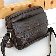 New Men's Leather Messenger Shoulder Bag CrossBag Satchel Women's Purse-0979