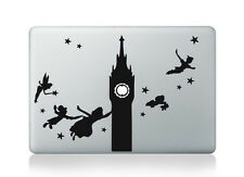 Peter Pan Disney Clock Tower Vinyl Decal Sticker for Macbook Air/Pro/Retina 13""
