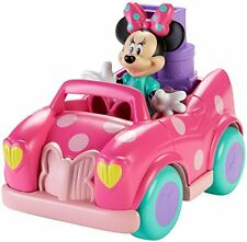 Baby Girl Toy Car Toddler Toys Set Pink Wheels Minnie Mouse Figure Play