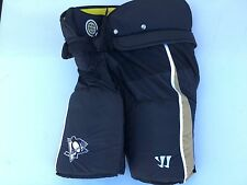 PITTSBURGH PENGUINS Warrior Hustler Black Gold XL NEW Hockey Pants Pro Stock