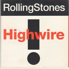 Rolling Stones 'Highwire/Flashpoint' CD single foldout slipcase, 1991 on Musidor