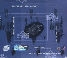 98/99 1998-99 Upper Deck SPx Prospects Edition Hockey Box