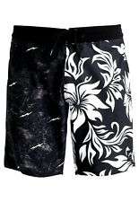 Rusty New Classic Men's Pareo Metal Board Shorts Black Size 32