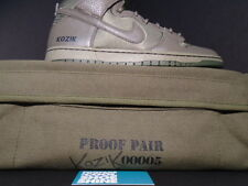 Nike Dunk High Premium SB FRANK KOZIK AUTOGRAPH SIGNED OLIVE GREEN MILITARY BAG