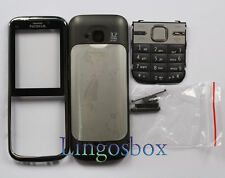 Brand New Nokia C5 Full Body With Keypad Housing Panel Fascia - Black