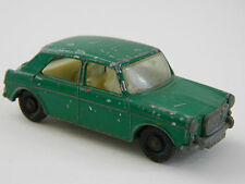 VINTAGE MATCHBOX No. 64 M.G. 1100 MG, GREEN, DOG, DRIVER, GOOD CONDITION