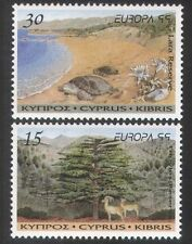 Chypre 1999 europa/parcs/turtles/mouton/animaux/nature/conservation 2v set n3908
