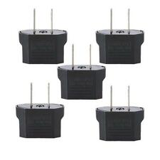 (Lot 5X) Euro EU To US USA Universal Travel Power Adapter Converter Plug Outlet