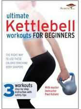 Ultimate Kettlebell Workouts for Beginners (2012, DVD NEW)