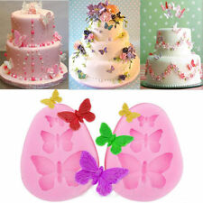 Silicone Butterfly Lace Fondant Cake Mold Sugarcraft Chocolate Mould Decoration